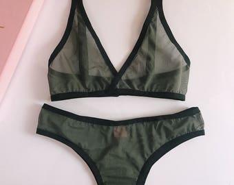 NEW !! basic minimalist lingerie set • 22 •