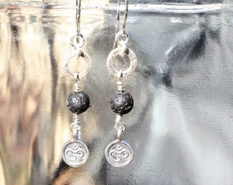 Karma Lava Ohm Earrings