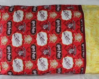 Quidditch Harry Potter pillowcase