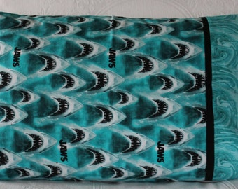 Jaws pillowcase