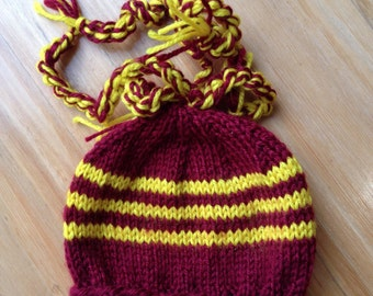 Newborn hat/beanie/Queensland/Broncos