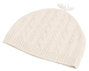 Cable Knit Cashmere Children's Hat