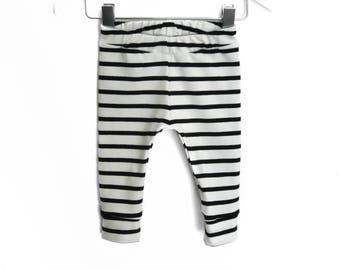 Leggings striped sailor