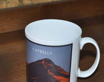 Catbells Bone China Mug