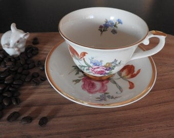 Arabia/Finland GOLDEN AGE I - coffee cup and saucer, The 1990's