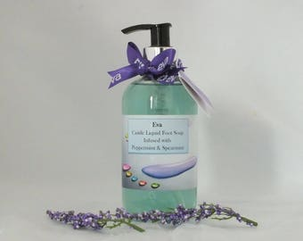 Castile Liquid Foot Soap