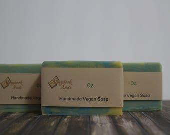 Oz Cold Process Vegan Soap