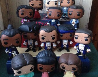 Hamilton: An American Musical Funko POP! Vinyl Customized - Various Characters