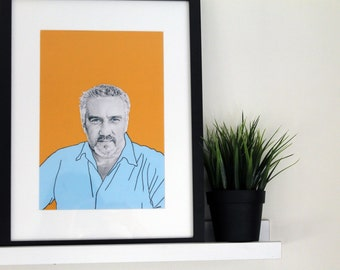 Illustrative A4 Print - Paul Hollywood
