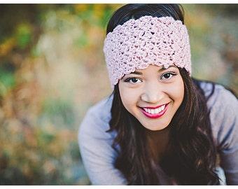 Madison Headwarmer, Madison Headband, Headwarmer, Headband, Crochet Headwarmer, Crochet Headband, Winter Headwarmer