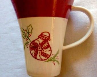 Christmas red mug