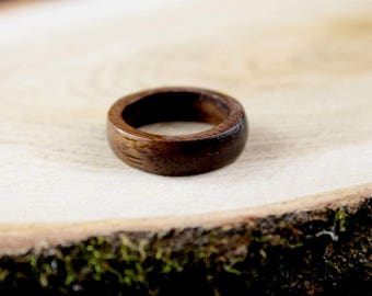 Thin wood ring, wooden ring, wood rings for men, wood rings for women, walnut wood ring, wooden rings for women, wooden rings for men, rings