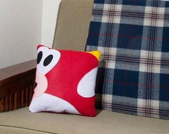 Decorative Felt & Fleece Cheep Cheep Pillow from Nintendo's Mario