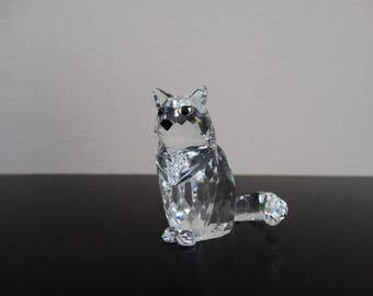 Swarovski Cat, Sitting