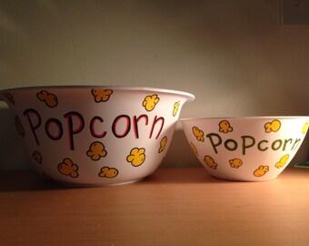 Personalized Popcorn Bowl Etsy