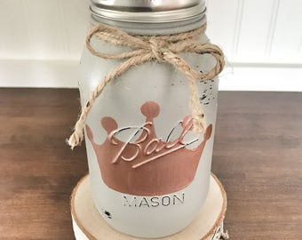 Kids Christmas Gift, Unique gift for kids, Gifts for kids, Baby gift, Mason Jar Piggy Bank, mason jar Coin jar, nursery decor