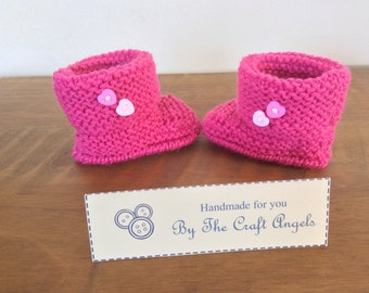 Baby Ugg style boots, Baby booties,Baby shower gift,  Newborn baby booties.