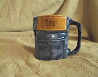 Blue Jean Cup/Mug