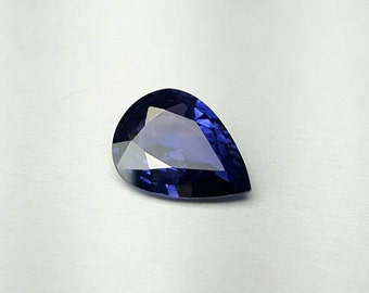 2.25ct pear shape natural Sapphire.