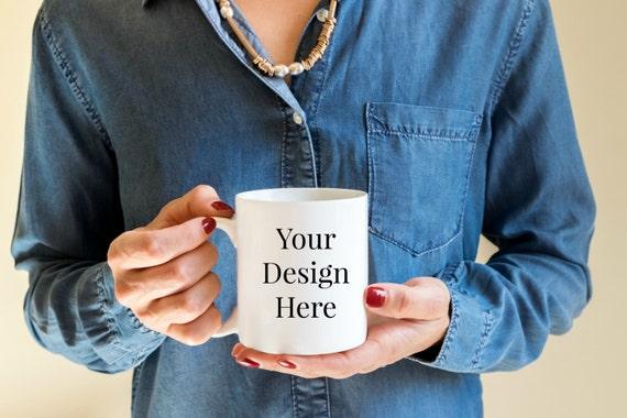 "16 oz ""Your Design Here"" Coffee Mug"