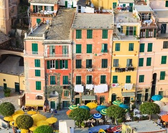 Vernazza Colors - Italy Cinque Terre Photography, Printable Wall Art