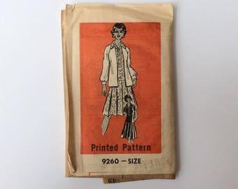 FF 1960s B41 Shirt Dress and Jacket Sewing Pattern : Mail Order 9260