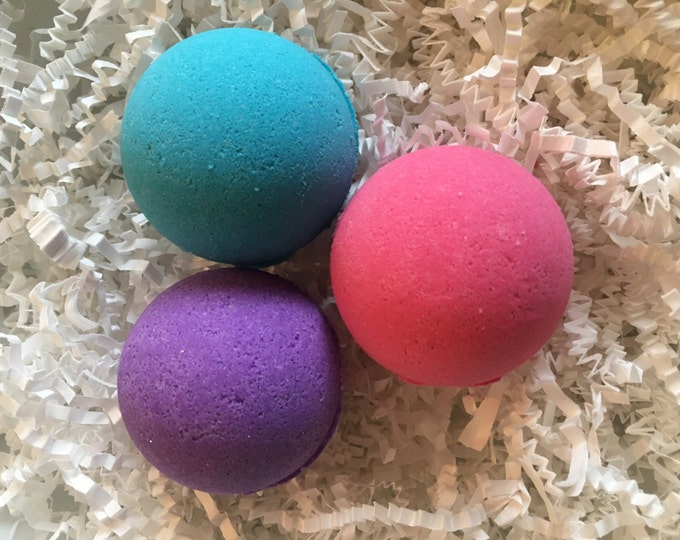 3 bath bombs set bath bomb gift bath bomb gifts