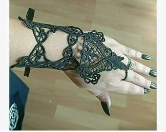 Full hand lace bracelet