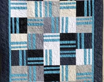 Modern Handmade Quilt, Modern Homemade Quilt, Modern Homemade Blanket, Cotton Blanket, Cotton Throw Quilt, Sofa Throw, Patchwork Throw