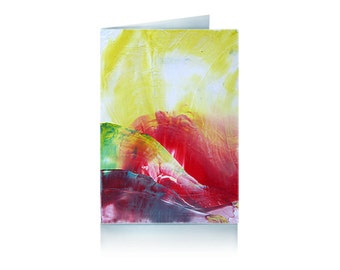 Greeting card: summer sun