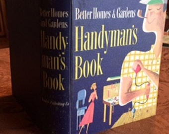 Better Homes and Gardens: HANDYMAN'S BOOK 1957