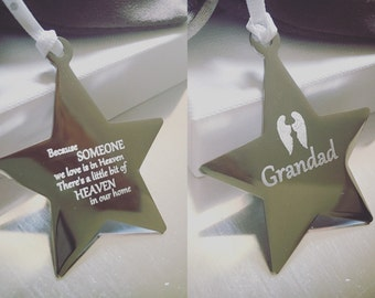 Personalised Memory Star