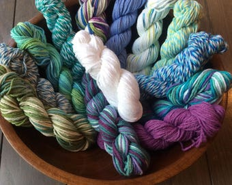 Assorted Cotton Yarns ~ Reduced Shipping!