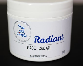 Anti-aging Face Cream / Organic Face Moisturizer / Organic Face Cream / Essential Oil Face Cream / Natural Face Moisturizer / Face Cream