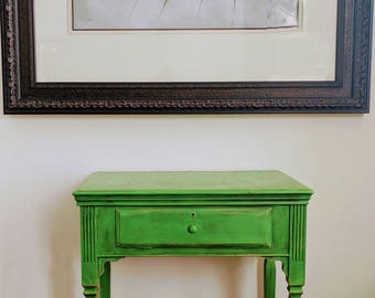 """Awesome Antique Occasional Table or Small Desk """"Edwin"""""""
