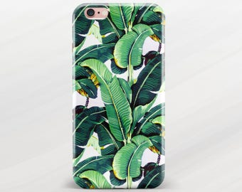 Palm Leaf iPhone Case iPhone 7 Case Banana Leaves iPhone 6 Plus Case iPhone 7 Plus Case iPhone 6s Plus Case iPhone SE Case iPhone 5s Case