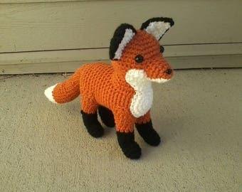 Plush Crochet Fox