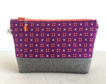 Cosmetic Bag, Zip Pouch, Zipper Pouch, Accessories Bag, Small Storage Bag