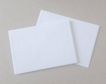Plain white envelopes - C5 - to fit A5 invitations.
