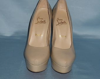 Authentic vintage Christian Louboutin shoes ! Genuine leather !