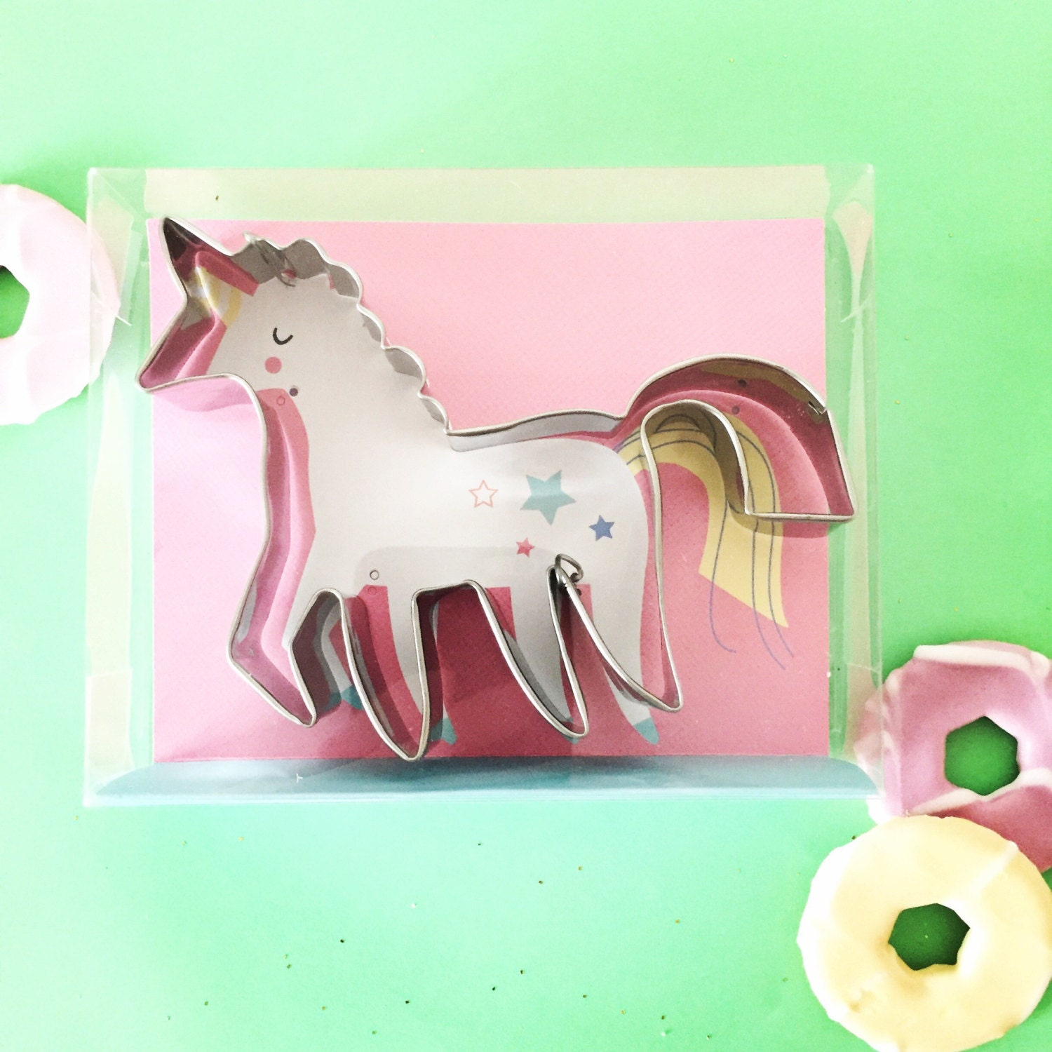 Unicorn Cookie Cutters Stainless Steel Magical Beast Creature