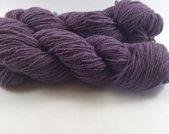 Skein of wool BROGNA solid naturally with WOOD CAMPSITE