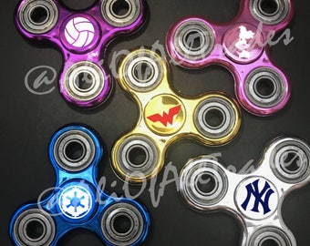 Personalized Fidget Spinner (Metal), party favors