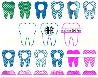 60 % OFF, Tooth SVG, Monogram Tooth SVG Frames, Tooth Monogram Frame svg, png,eps,dxf, Dentist Tooth Svg Cut Files, Tooth Split Monogram Svg