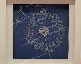 Be Free - Dandelion string art