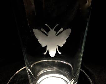 Bee drinking glasses 16oz