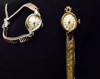 Ladies Watch Lot Featuring Vintage Bulova