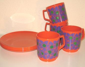 Vintage 70s breakfast set from EMSA