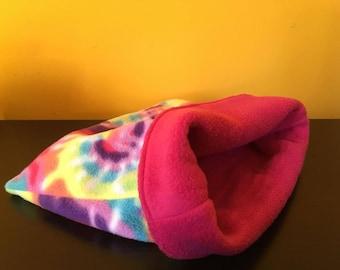 Cuddle Sack - CUSTOM FABRIC - Bonding Bag - Guinea Pig - Small Animal Snuggle Sack - Cuddle Cup - Hedgehog