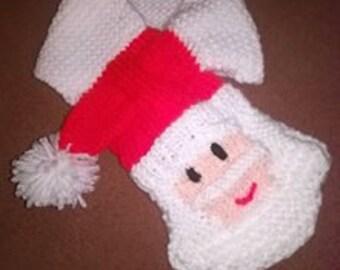 Santa Claus Knit Pattern Etsy